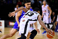 Saints&rsquo; Shea Ili in action during the NBL - Cigna Saints v Bay Hawks at TSB Bank Arena, Wellington, New Zealand on Friday 12 April 2019. <br /> Photo by Masanori Udagawa. <br /> www.photowellington.photoshelter.com