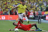 Colombia - Chile hacia Mundial 2018