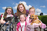 Derbhala Cliodhna and GrainneQuirke and Emma Fitzgibbon Tralee  at the kingdom county fair at Ballybeggan park, Tralee on Sunday.