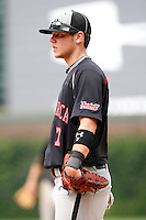 August 8, 2009:  First Baseman Kevin Koziol (7) of the Baseball Factory team during the Under Armour All-America event at Wrigley Field in Chicago, IL.  Photo By Mike Janes/Four Seam Images