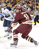 Brent Shepheard, Brian Boyle - The Boston College Eagles defeated the University of Maine Black Bears 4-1 in the Hockey East Semi-Final at the TD Banknorth Garden on Friday, March 17, 2006.