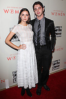 "BEVERLY HILLS, CA, USA - MAY 10: Maia Mitchell, David Lambert at the ""An Evening With Women"" 2014 Benefiting L.A. Gay & Lesbian Center held at the Beverly Hilton Hotel on May 10, 2014 in Beverly Hills, California, United States. (Photo by Celebrity Monitor)"