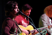 Chris and Eric Reading, originally from San Diego, perform with musician Dru Buchan at Dana Middle School in Point Loma, Thursday March 27th 2008.  The show is the first one of the Tour 4 Cure series and Chris Reading Scholarship Fund.
