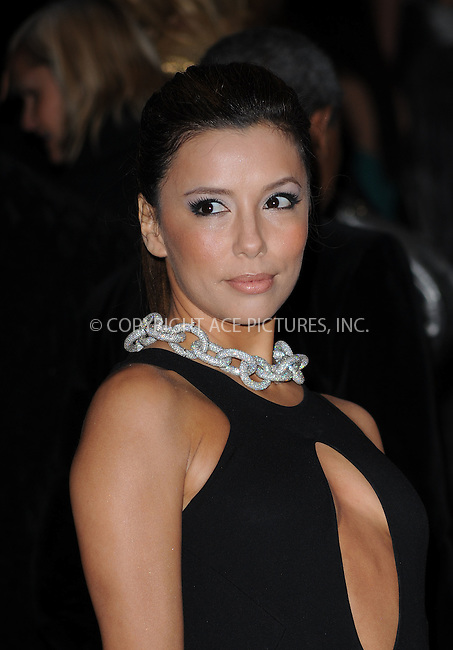 WWW.ACEPIXS.COM . . . . . ....May 4 2009, New York City....Actress Eva Longoria arriving at 'The Model as Muse: Embodying Fashion' Costume Institute Gala at The Metropolitan Museum of Art on May 4, 2009 in New York City.....Please byline: KRISTIN CALLAHAN - ACEPIXS.COM.. . . . . . ..Ace Pictures, Inc:  ..tel: (212) 243 8787 or (646) 769 0430..e-mail: info@acepixs.com..web: http://www.acepixs.com
