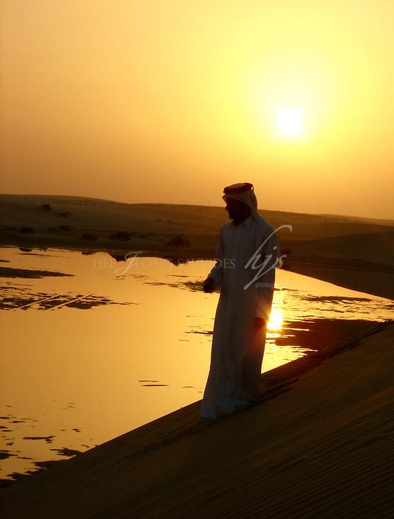 Qatari man in Inland Sea, Qatar | Dec 08