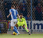Steven MacLean takes the ball around Wes Foderingham to score