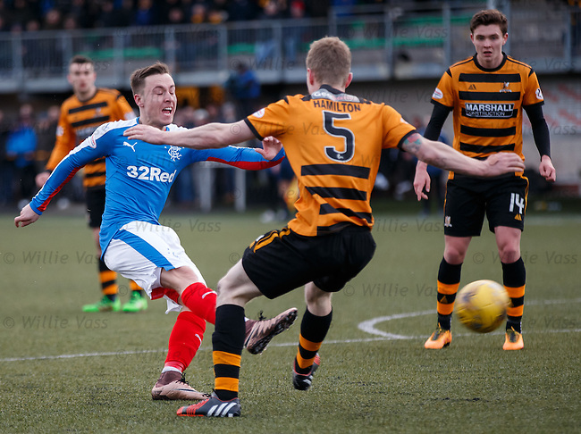 Barrie McKay has a shot