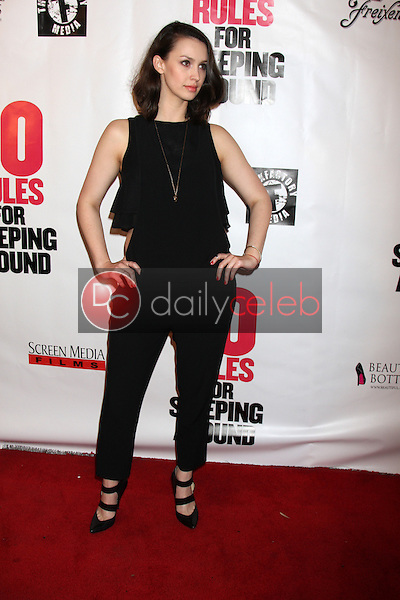 Alexandra Von Renner<br /> at the &quot;10 Rules for Sleeping Around&quot; Premiere, Egyptian Theater, Hollywood, CA 04-01-14<br /> Dave Edwards/DailyCeleb.com 818-249-4998