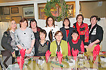 Staff employed at the Department of Justice in Listowel enjoying their Christmas party at The Horseshoe Restaurant, Listowel on Saturday evening last.