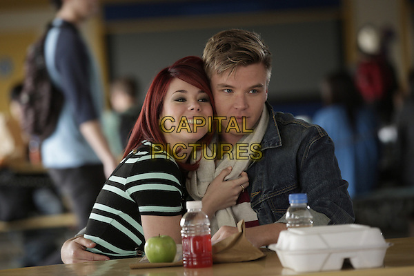 Jillian Rose Reed and Brett Davern<br /> in Awkward. (Season 3)<br /> *Filmstill - Editorial Use Only*<br /> CAP/FB<br /> Image supplied by Capital Pictures