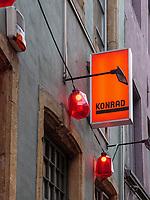 Boutiquebar Konrad 7 rue du Nord , Luxemburg-City, Luxemburg, Europa<br /> , Luxembourg City, Europe