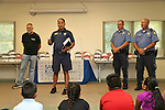 Bicycle giveaway and helmet safety event at Monmouth Medical Center Southern Campus in Lakewood, NJ on Tuesday July 19, 2016.