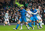 Stuart Armstrong scores the second goal