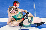 Heavyweight Lewis Fernandes of Voorhees pins Brian Sidle of St. Joseph (Mont.) to win their 285-pound quarterfinal bout at the 2018 NJSIAA State Wrestling Championships at Atlantic City's Historic Boardwalk Hall on Saturday, March 3, 2018.
