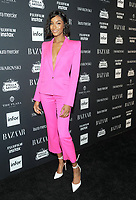 NEW YORK, NY - SEPTEMBER 08: Jourdan Dunn attends the 2017 Harper's Bazaar Icons at The Plaza Hotel on September 8, 2017 in New York City. <br /> CAP/MPI/JP<br /> &copy;JP/MPI/Capital Pictures