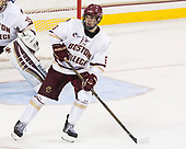 Michael Campoli (BC - 6) - The Boston College Eagles defeated the visiting Colorado College Tigers 4-1 on Friday, October 21, 2016, at Kelley Rink in Conte Forum in Chestnut Hill, Massachusetts.The Boston College Eagles defeated the visiting Colorado College Tiger 4-1 on Friday, October 21, 2016, at Kelley Rink in Conte Forum in Chestnut Hill, Massachusett.