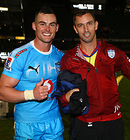 DURBAN, SOUTH AFRICA - APRIL 14: Jesse Kriel of the Vodacom Blue Bulls during the Super Rugby match between Cell C Sharks and Vodacom Bulls at Jonsson Kings Park Stadium on April 14, 2018 in Durban, South Africa. Photo: Steve Haag / stevehaagsports.com