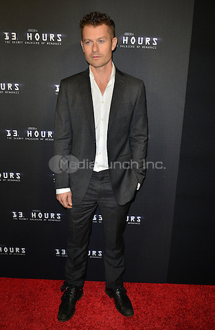 AVENTURA, FL - JANUARY 07: James Badge Dale attends the Screening of '13 Hours The Secret Soldiers of Benghazi' at the AMC Aventura on January 7, 2016 in Aventura, Florida.  Credit: MPI10 / MediaPunch