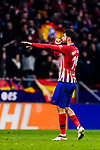 Diego Costa of Atletico de Madrid celebrates his goal during the La Liga 2018-19 match between Atletico Madrid and FC Barcelona at Wanda Metropolitano on November 24 2018 in Madrid, Spain. Photo by Diego Souto / Power Sport Images
