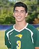 Matt Lilley of Ward Melville High School poses for a portrait during the Newsday 2015 varsity boys' volleyball season preview photo shoot at company headquarters on Tuesday, September 15, 2015<br /> <br /> James Escher