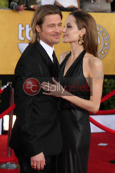 Brad Pitt, Angelina Jolie<br />