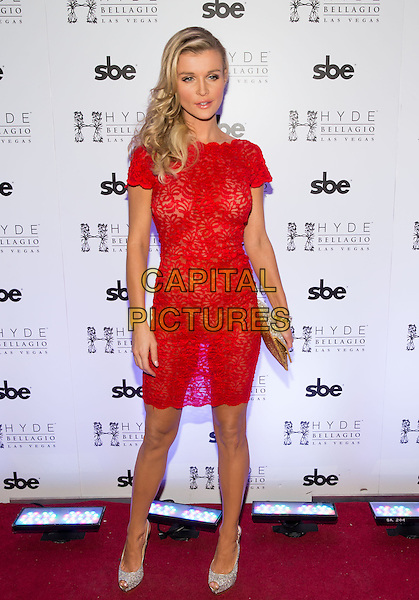 LAS VEGAS, NV - February 1: Joanna Krupa hosts pre Super Bowl party at HYDE at Bellagio in Las Vegas, NV on February 1, 2014. <br /> CAP/MPI/RTNRDK<br /> &copy;RTNRDK/MPI/Capital Pictures