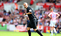Referee Geoff Eltringham <br /> <br /> Photographer Stephen White/CameraSport<br /> <br /> The EFL Sky Bet Championship - Stoke City v Queens Park Rangers - Saturday 3rd August 2019 - bet365 Stadium - Stoke-on-Trent<br /> <br /> World Copyright © 2019 CameraSport. All rights reserved. 43 Linden Ave. Countesthorpe. Leicester. England. LE8 5PG - Tel: +44 (0) 116 277 4147 - admin@camerasport.com - www.camerasport.com