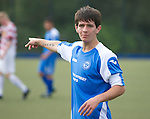 St Johnstone U16's.Dillon Easton.Picture by Graeme Hart..Copyright Perthshire Picture Agency.Tel: 01738 623350  Mobile: 07990 594431