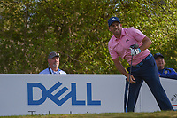 Sergio Garcia (ESP) watches his tee shot on 12 during round 1 of the World Golf Championships, Dell Match Play, Austin Country Club, Austin, Texas. 3/21/2018.<br /> Picture: Golffile | Ken Murray<br /> <br /> <br /> All photo usage must carry mandatory copyright credit (&copy; Golffile | Ken Murray)