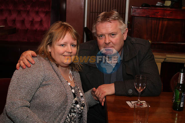 Karen and Stephen Kierans on Christmas Eve in Hogs and Heiffers. ..(Photo credit should read Jenny Matthews www.newsfile.ie)....This Picture has been sent you under the conditions enclosed by:.Newsfile Ltd..The Studio,.Millmount Abbey,.Drogheda,.Co Meath..Ireland..Tel: +353(0)41-9871240.Fax: +353(0)41-9871260.GSM: +353(0)86-2500958.email: pictures@newsfile.ie.www.newsfile.ie.