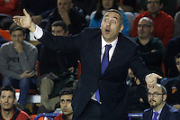 Montakit Fuenlabrada's coach Jota Cuspinera during Eurocup, Top 16, Round 2 match. January 10, 2017. (ALTERPHOTOS/Acero) /NORTEPHOTO.COM