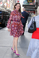 OCT 12 Hilary Swank at GMA Day