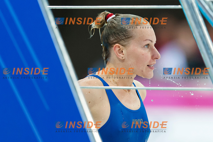 FEDOROVA Olena UKR<br /> London, Queen Elizabeth II Olympic Park Pool <br /> LEN 2016 European Aquatics Elite Championships <br /> Diving<br /> Women's 1m springboard final <br /> Day 03 11-05-2016<br /> Photo Giorgio Perottino/Deepbluemedia/Insidefoto