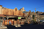 Oatman in the afternoon in February