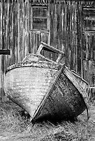 Old Boat and Wharf, Washington