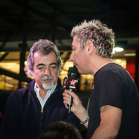 Motosalone Eicma edizione 2012: il direttore generale Eicma Pier Francesco Caliari intervistato da Dj Ringo..International Motorcycle Exhibition 2012: Dj Ringo interview the general manager of Eicma Pier Francesco Caliari.
