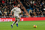 Real Madrid's Dani Carvajal during La Liga match between Real Madrid and Valencia CF at Santiago Bernabeu Stadium in Madrid, Spain. December 01, 2018. (ALTERPHOTOS/A. Perez Meca)