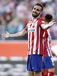 Atletico de Madrid's Jesus Gamez during La Liga match. April 30,2016. (ALTERPHOTOS/Acero)