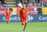 20180904 - LEUVEN , BELGIUM : Belgian Tessa Wullaert pictured during the female soccer game between the Belgian Red Flames and Italy , the 8th and last game in the qualificaton for the World Championship qualification round in group 6 for France 2019, Tuesday 4 th September 2018 at OHL Stadion Den Dreef in Leuven , Belgium. PHOTO SPORTPIX.BE | DAVID CATRY