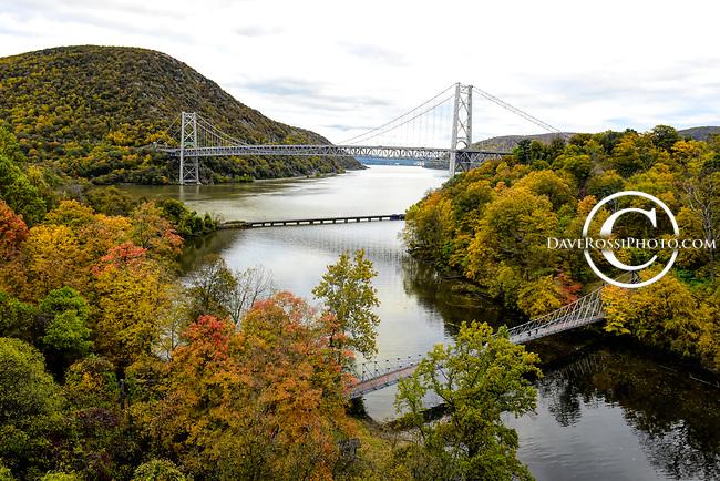 Autumn foilage at Bear Mountain Bridge, NY