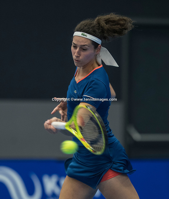 Rotterdam, Netherlands, December 15, 2016, Topsportcentrum, Lotto NK Tennis,  Rosalie van de Hoek (NED) <br /> Photo: Tennisimages/Henk Koster