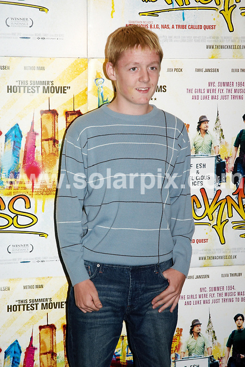 **ALL ROUND PICTURES FROM SOLARPIX.COM**.**WORLDWIDE SYNDICATION RIGHTS**.The Wackness Premiere at Curzon cinema, Soho, London. 20th August 2008..This pic: Thomas Turgoose..JOB REF: 7070 FRG     DATE: 21_08_2008.**MUST CREDIT SOLARPIX.COM OR DOUBLE FEE WILL BE CHARGED* *UNDER NO CIRCUMSTANCES IS THIS IMAGE TO BE REPRODUCED FOR ANY ONLINE EDITION WITHOUT PRIOR PERMISSION*
