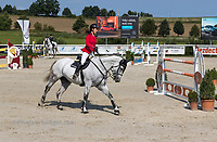Rider at Czech Equestrian Masters 2017 jumping competition in The Czech Republic, Europe