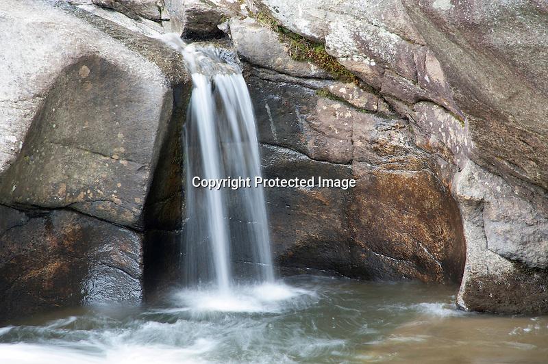 Small Cascade at Pollards Mills Waterfall