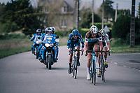 Stijn Vandenbergh (BEL/AG2R-La Mondiale)<br /> <br /> 35th Tro Bro Leon 2018<br /> 1 Day Race: Le Carpont - Lannilis (FRA/203km)