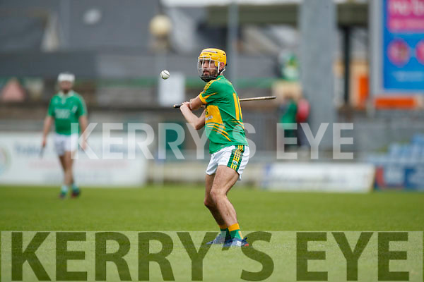 Ballyduff in action against John Buckley Lixnaw in the Senior County Hurling Final in Austin Stack Park on Sunday