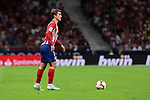 Atletico de Madrid's XXX and SD Huesca's XXX during La Liga match between Atletico de Madrid and SD Huesca at Wanda Metropolitano Stadium in Madrid, Spain. September 25, 2018. (ALTERPHOTOS/A. Perez Meca)