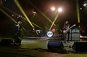 MIAMI FL - MAY 07: Sam Kiszka, Josh Kiszka, Danny Wagner and Jake Kiszka of Greta Van Fleet perform at Bayfront Park Amphitheater on May 7, 2019 in Miami, Florida. Photo by Larry Marano © 2019