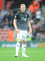 Burnley's Ben Mee<br /> <br /> Photographer Kevin Barnes/CameraSport<br /> <br /> The Premier League - Southampton v Burnley - Sunday August 12th 2018 - St Mary's Stadium - Southampton<br /> <br /> World Copyright &copy; 2018 CameraSport. All rights reserved. 43 Linden Ave. Countesthorpe. Leicester. England. LE8 5PG - Tel: +44 (0) 116 277 4147 - admin@camerasport.com - www.camerasport.com