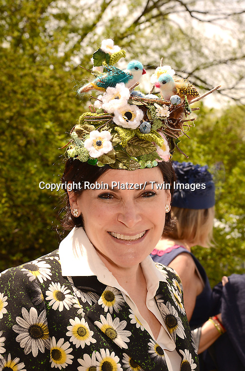 Lisa Pebaroff Cohm attends the 32nd Annual Frederick Law Olmsted Awards Hat Luncheon given by The Central Park Conservancy on May 7,2014 in Central Park in New York City, NY USA.